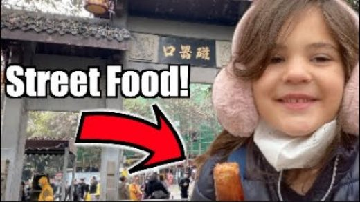 Ancient Chinese City and Street Food! | Vlog25