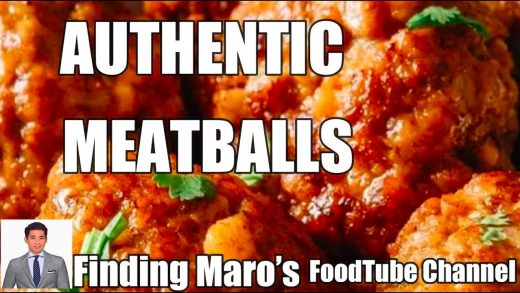 Authentic Meatballs | A Finding Maro's FoodTube Channel |