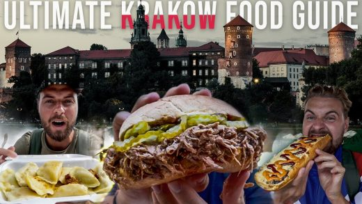 BEST Polish Food to Try - ULTIMATE Street Food Tour in Krakow