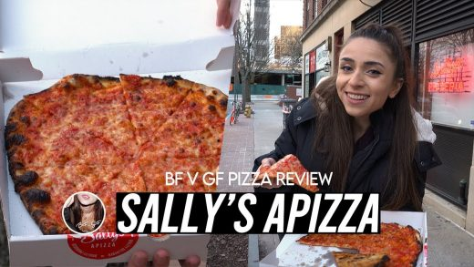 BF v GF Pizza Review - Sally's Apizza (New Haven, CT)