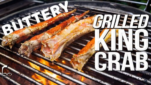BUTTERY GRILLED KING CRAB   SAM THE COOKING GUY 4K