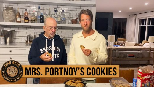 Barstool Cookie Review - My Mom's Cookies (Special Guest My Dad)