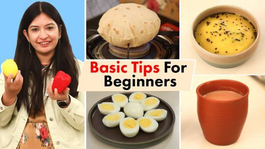 Basic COOKING TIPS & TRICKS for Beginners   CookWithNisha