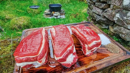 Beef Short Ribs cooked for hours🔥🔥 ASMR style! Relaxing cooking in the nature