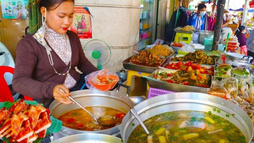 Best Khmer Street Food In Cambodia  - Grilled Fishes, Chicken, Korkour, And More