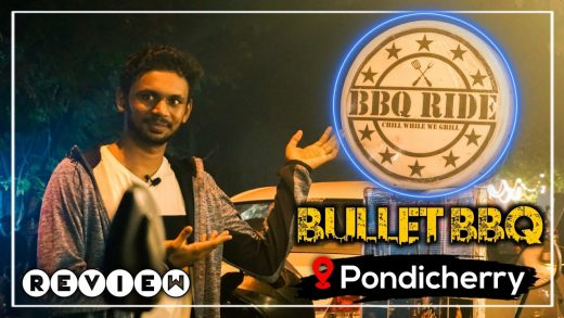 Bullet bbq grill   Bbq chicken wings   Must try street food in Pondicherry  genreviews