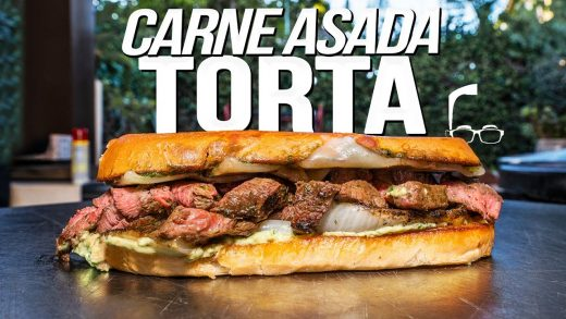 CARNE ASADA TORTA / GRILLED CHEESE / IT DOESN'T MATTER IT'S SO GOOD | SAM THE COOKING GUY