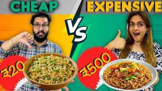 CHEAP VS EXPENSIVE FOOD CHALLENGE 🤩 || We Took This To The Next Level 😱