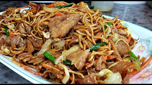 CHICKEN CHOW MEIN | EASY Chicken Chow Mein Recipe | Cooking At Home