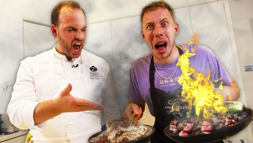 COOK OFF VS PROFESSIONAL CELEBRITY CHEF!