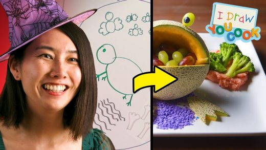 Can These Chefs Turn This Witch Drawing Into A Real Dish? •Tasty