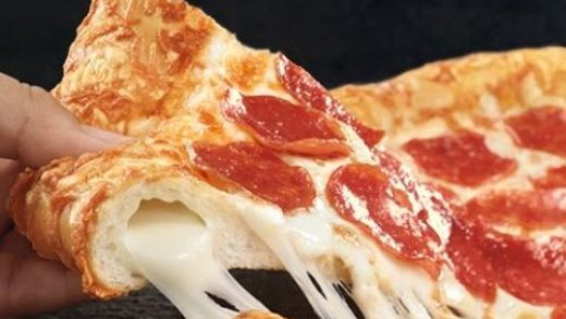 CarBS - Pizza Hut Triple Cheese Covered Stuffed Crust Pizza