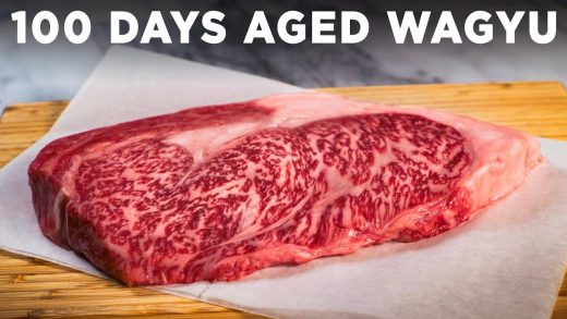 Cooking 100 Day Aged Wagyu