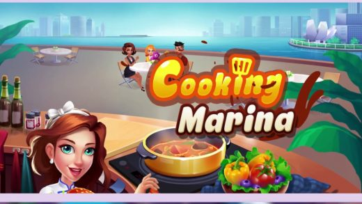 🔥 Cooking Marina - fast restaurant cooking games