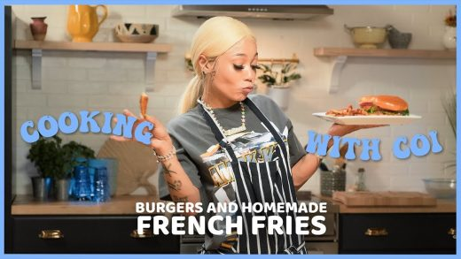 Cooking With Coi Leray - Burgers & Fries