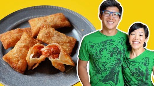 Cooking With My Brother   DIY Totino's Pizza Rolls - our childhood favorite