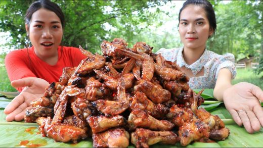 Cooking chicken wing roasted with chili sauce recipe - Cooking skill