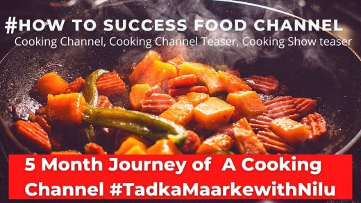 Cooking show Teaser, Cooking Channel Teaser, how to success a food channel tips, healthy Eating
