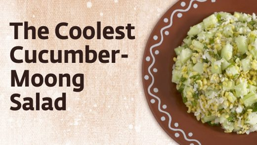 Cucumber-Moong Salad: For the Cool Ones!