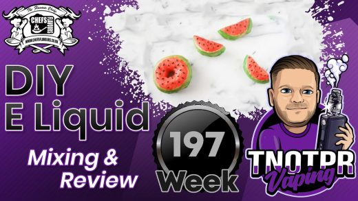 DIY E juice Mixing and Review Melon Glazed Donut By SteveTC