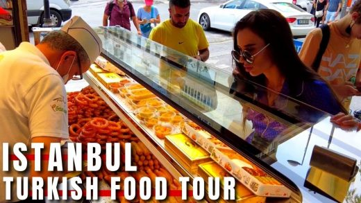 Delicious Turkish Street Food Tour In Istanbul |August 2021|4k UHD 60fps