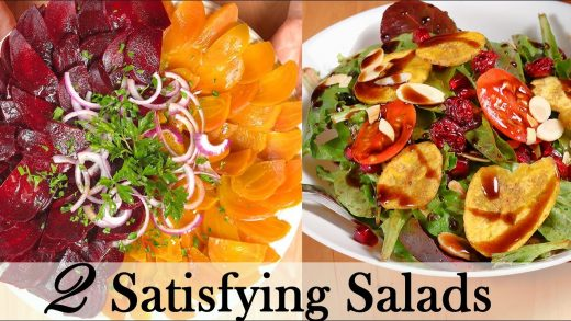 Do You Like Salad? 2 Salad Recipes Beets and Greens With Homemade Salad Dressings