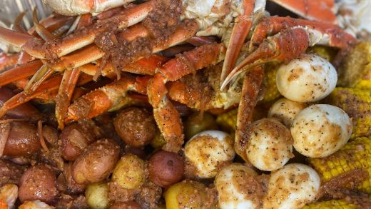 Easy Seafood Boil Recipe | collab with @Ray Mack's Kitchen and Grill | Crab Boil | Low Country Boil