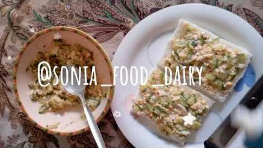 Easy to make sandwiche only two ingredients by Sonia Food Dairy