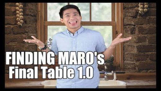 FINDING MARO's Final Table 1.0 [ A FINDING MARO's FOOD-TUBE CHANNEL ]