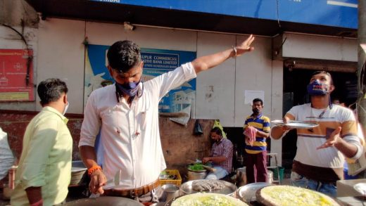 Flying Dosa 2.0   Next Level Dosa Flying & Catching   Indian Street Food