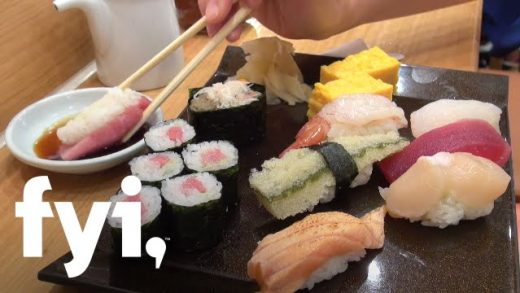 Food Porn: Chernow Down and Dirty: Sushi | FYI