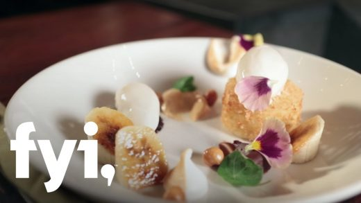 Food Porn: The Bananas Foster at laV in Austin | FYI
