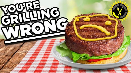 Food Theory: Do NOT Grill A Burger Like This!