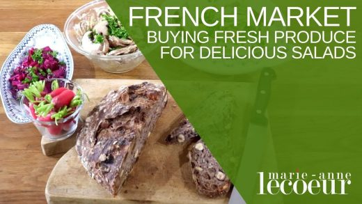 🇫🇷 French Food Market and Salads
