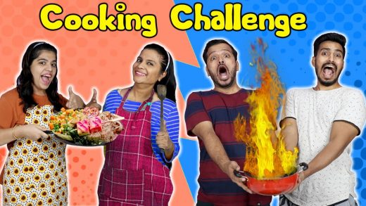 Funny Food Cooking Challenge  Hungry Birds
