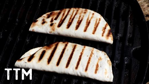 Grilled Bean and Cheese Tacos ~ Easy Cooking