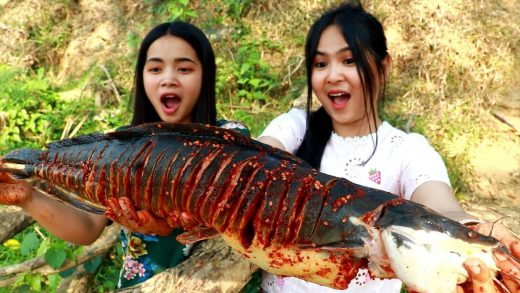 Grilled Big Fish Spicy Recipe - Cooking Fish - My Food My Lifestyle