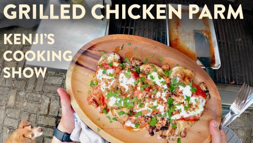 Grilled Chicken Parm   Kenji's Cooking Show