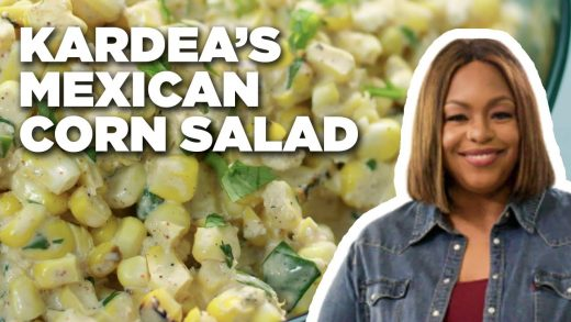 Grilled Mexican Street Corn Salad with Kardea Brown   Delicious Miss Brown   Food Network