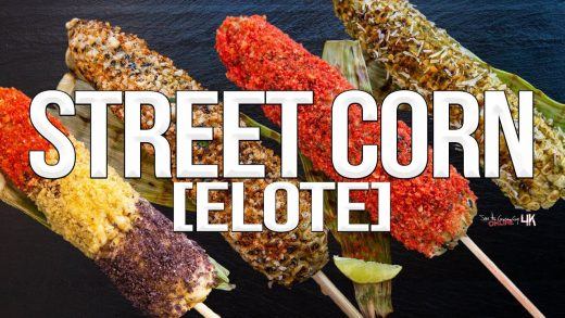 Grilled Mexican Style Street Corn (Elote)   SAM THE COOKING GUY 4K