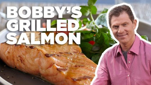 Grilled Salmon with Brown Sugar Glaze | Hot off the Grill with Bobby Flay | Food Network