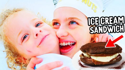HUGS & ICE CREAM SANDWICHES (easy recipe) w/DISCO & SOCKIE - NORRIS NUTS COOKING