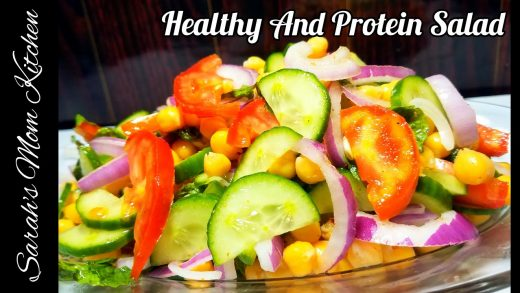 Healthy And Protein Salad Recipe | # Short | Sarah's Mom Kitchen