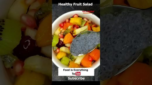 Healthy fruit salad recipe | Home made salads | Food is Everything