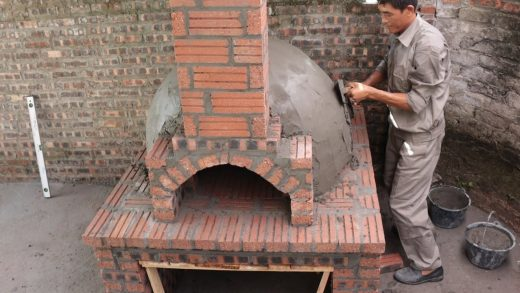 How To Build Dome Pizza Oven With Brick Beautiful And Unique