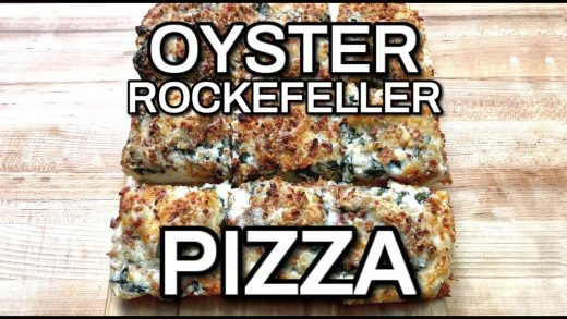 How To Make Oyster Rockefeller Pan Pizza
