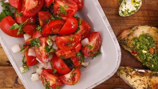 How To Make Tomato Salad | Rach & John's Date Night At Home