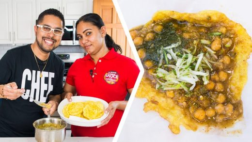 How To Make Trini Doubles | Foodie Nation x Sauce Doubles