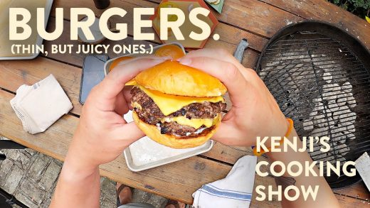 How to Grill Burgers (That are Big on Flavor, Not in Volume)   Kenji's Cooking Show