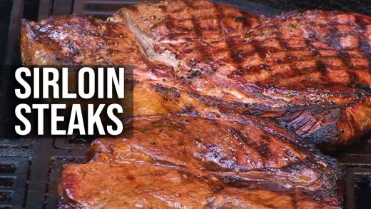How to Grill Sirloin Steaks | Recipe